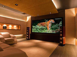 Setting up a home theatre