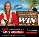 Win a Cruise For Two Condon Air Conditioning Contractors & Services 4
