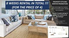 Special Winter Promotion on our Property Styling Offer : Pay for 4 Weeks and Get Another 4 Weeks Free = 8 Weeks in Total Oran Park Home Staging and Property Styling _small