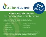 Home Health Report for Preventative Maintenance Annerley Plumbing & Plumbers _small