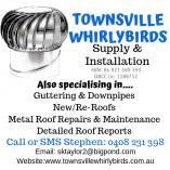 ROOF VENTILATION SOLUTIONS FOR ALL YOUR HOME AND COMMERCIAL NEEDS. (WHIRLYBIRDS) Townsville Roof Ventilation &  Whirly Birds _small