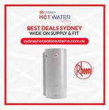 $200 OFF RHEEM Hot Water Systems Sydney (cbd) Emergency Plumbers _small
