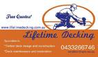 Lifetime Decking