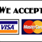 We accept many payment methods