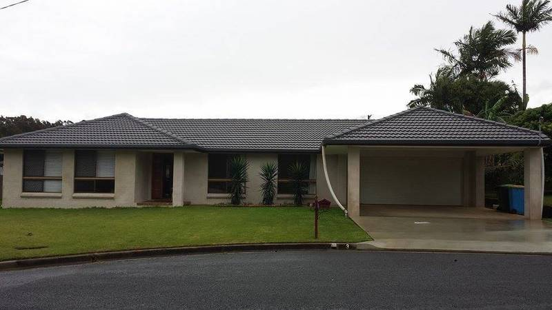 Old 70's house which has been done up in East Ballina