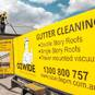 We are 100% focussed on gutter cleaning. We are licensed, insured, trained and equipped to do the job properly and safely.