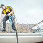 Our guys are licensed to work at heights and are equipped with a harness and lifeline.