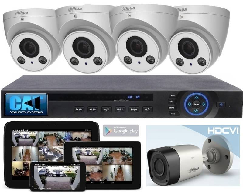 AHD CCTV 4 Camera Package