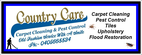 Country Care Carpets & Pests Bundaber