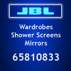 Jbl Glass Wardrobes / Shower Screens / Mirrors
