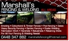 Marshall's Fencing & Welding
