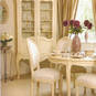 french Provincial hand painted dining suite