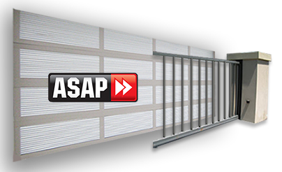 garge door and gate with asap logo