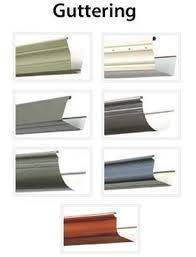 Gutters - Different profiles and colours available