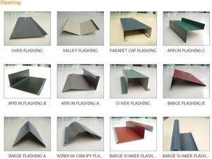 Flashings - Customised to your requirements