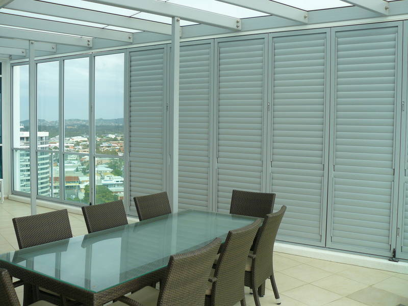 Bifold, sliding and fixed louver shutters