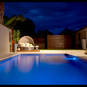 A beautiful inground Rainwise pool.